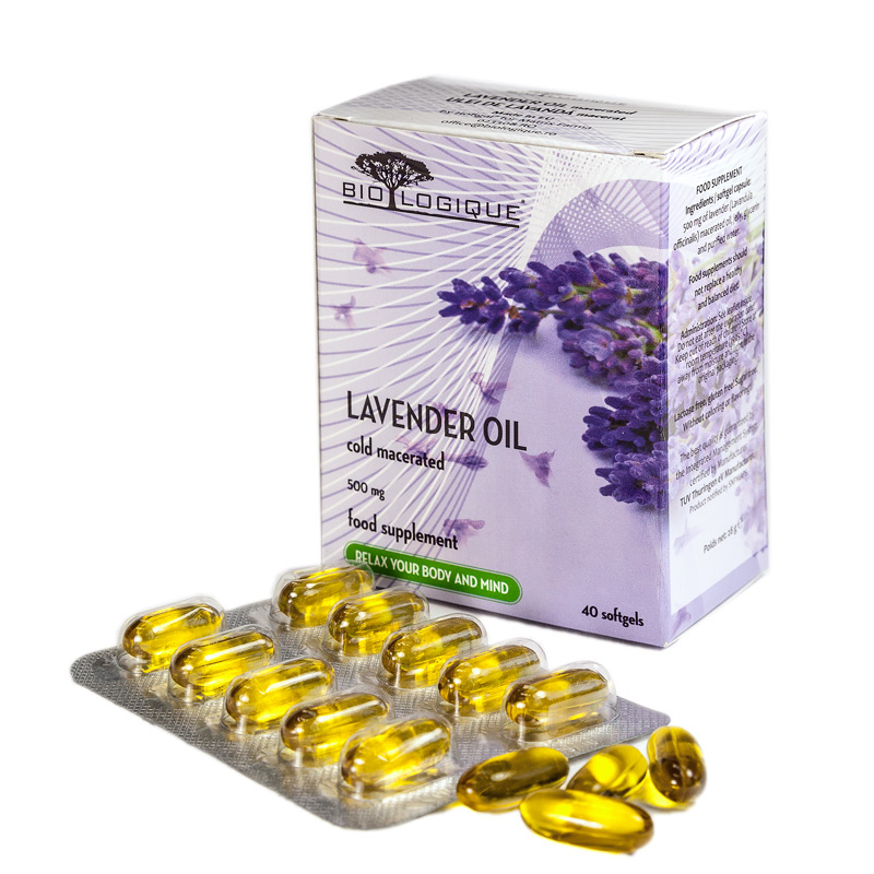 LAVENDER PURE OIL 500mg